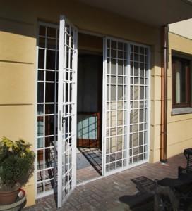 cancello porta esterno